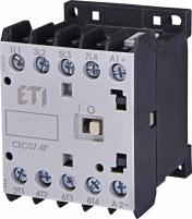 Контактор миниатюрный CEC 07.4P 230V АС (7A; 3kW; AC3) 4р (4 н.о.) арт.4641200