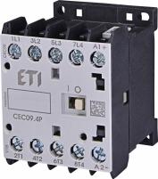 Контактор миниатюрный CEC 09.4P 230V АС (9A; 4kW; AC3) 4р (4 н.о.) арт.4641201