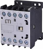 Контактор миниатюрный CEC 16.4P 230V АС (16A; 7,5kW; AC3) 4р (4 н.о.) арт.4641203
