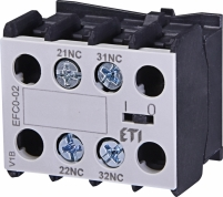 Блок-контакт EFC0-02 (2NC) арт.4641522