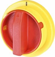 Рукоятка для LAS на дверцу шкафа аварийная (желто-красная) арт. 4665002