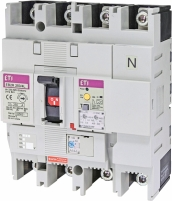 Авт. выключатель со встроенным блоком УЗО EB2R  250/4L 250А 4Р арт. 4671584