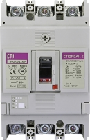 Авт. выключатель EB2S 250/3LF 250А 3P (16kA фикс.настр.) арт. 4671813