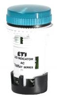 Лампа сигнальная LED матовая TT06X1 240V AC/DC (синяя) 54мм арт.4770764