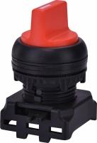 Перекл. поворотн. EGS3-SS-R (3-х поз., без фикс. 1-0-2, 45°, красный) арт.4771344